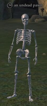 An undead pawn