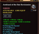 Armband of the Fate Revisionist