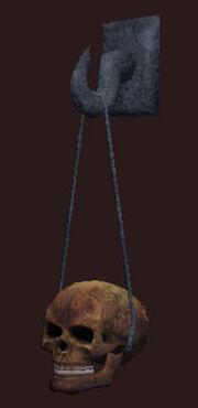 Baneful-skull-on-string