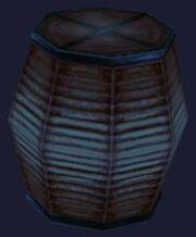 Blue festival lantern (Visible)