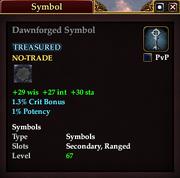 Dawnforged Symbol