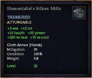 Elementalist's Silken Mitts