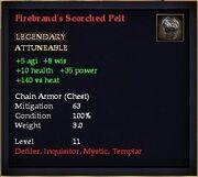 Firebrand's Scorched Pelt