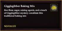 Gigglegibber Baking Mix
