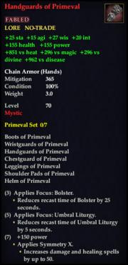 Handguards of Primeval