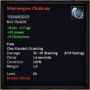 Marrowgore Chakram