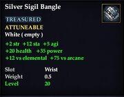 SilverSigilBangle