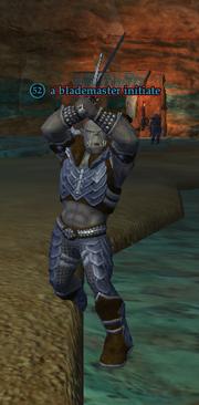 A blademaster initiate