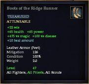 Boots of the Ridge Runner