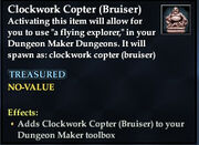 Clockwork Copter (Bruiser)