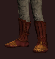 Empyrean Foot Wraps of the Cenobite (Equipped)