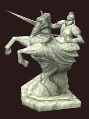 Statue-of-heroric-lance