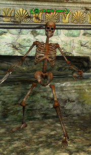 A brittle bones
