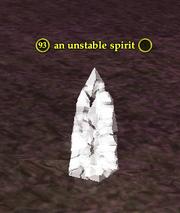 An unstable spirit