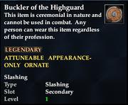 Buckler of the Highguard