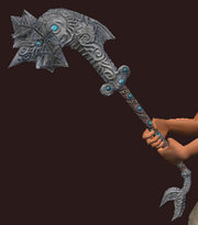 Hammer of the Depths (Equipped)