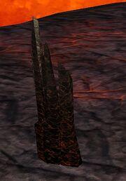 Molten Throne debris