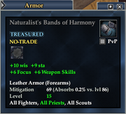 Naturalist's Bands of Harmony