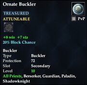 Ornate Buckler