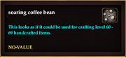 Soaring coffee bean