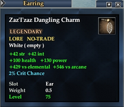 Zaz'I'zaz Dangling Charm