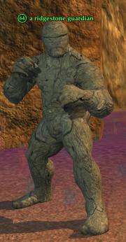 A ridgestone guardian