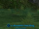 A shrumbler hatchling (Monster)