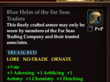 Blue Helm of the Far Seas Traders