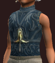 Blue Vest of the Far Seas Traders (Equipped)