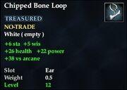 Chipped Bone Loop