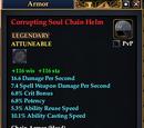 Corrupting Soul Chain Helm