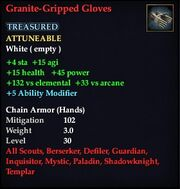 Granite-Gripped Gloves