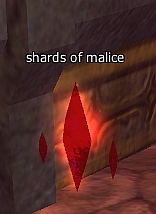 Red shard of malice