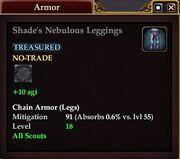 Shade's Nebulous Leggings