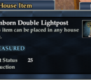 Somborn Double Lightpost