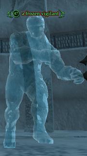 A frozen vigilant