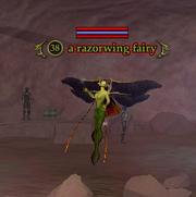 A razorwing fairy
