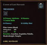 Crown of Lost Harvests