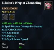Eidolon's Wrap of Channeling