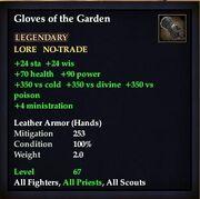 Gloves of the Garden