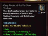 Grey Boots of the Far Seas Traders