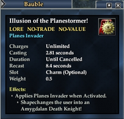 Illusion of the Planestormer!