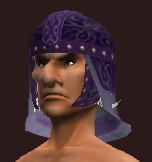 Indigo Helm of the Far Seas Traders (Equipped)