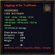 Leggings of the Trailblazer