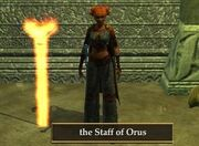 Staff of Orus (Visible)