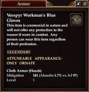 Vesspyr Citizens blue Gloves