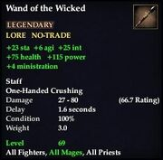 Wand of the Wicked