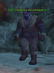 A Kromise Curn watchman