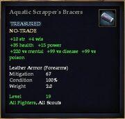 Aquatic Scrapper's Bracers