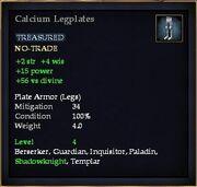 Calcium Legplates